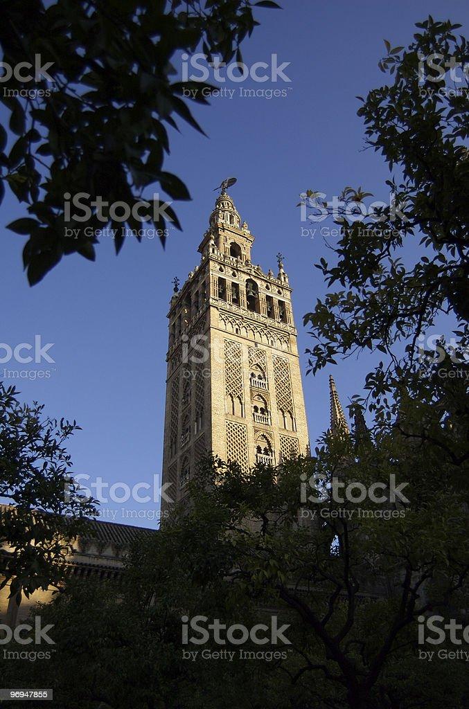 The Giralda, Seville, Spain royalty-free stock photo