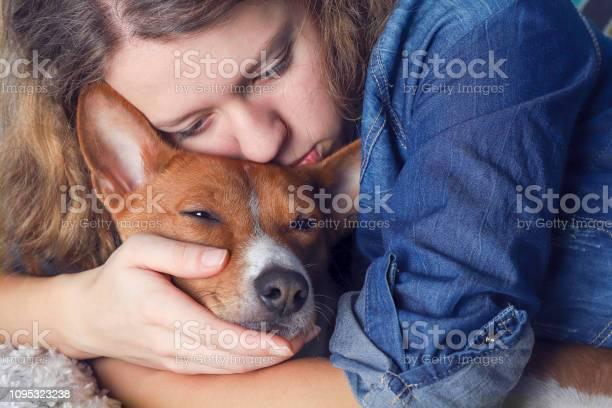 The girl hugs the basenji dog toned picture id1095323238?b=1&k=6&m=1095323238&s=612x612&h=fdhumqtxkofxl4tsmtu31cix2mctj0sxbvkyvmxe0ue=