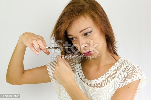 1169941952 istock photo The girl is working on herself 478459802