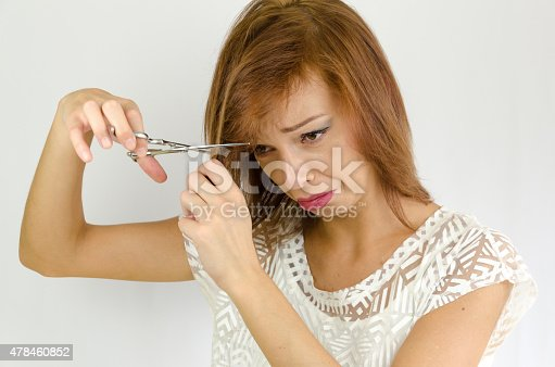 1169941952 istock photo The girl is working on herself 478460852