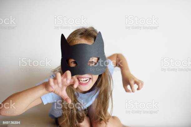 The girl plays in a selfmade mask of black cat picture id849136394?b=1&k=6&m=849136394&s=612x612&h=e dbzxtpflfhtj d 5xygsx4r4bqmp4ouz5y5j1l668=
