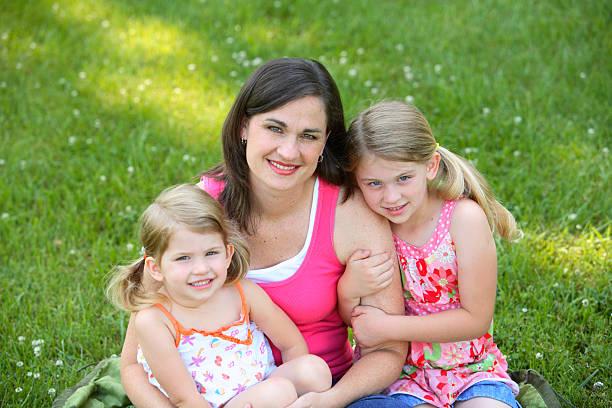 The Girls stock photo