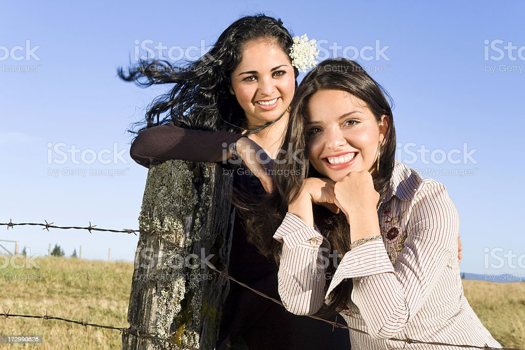 The Girls royalty-free stock photo