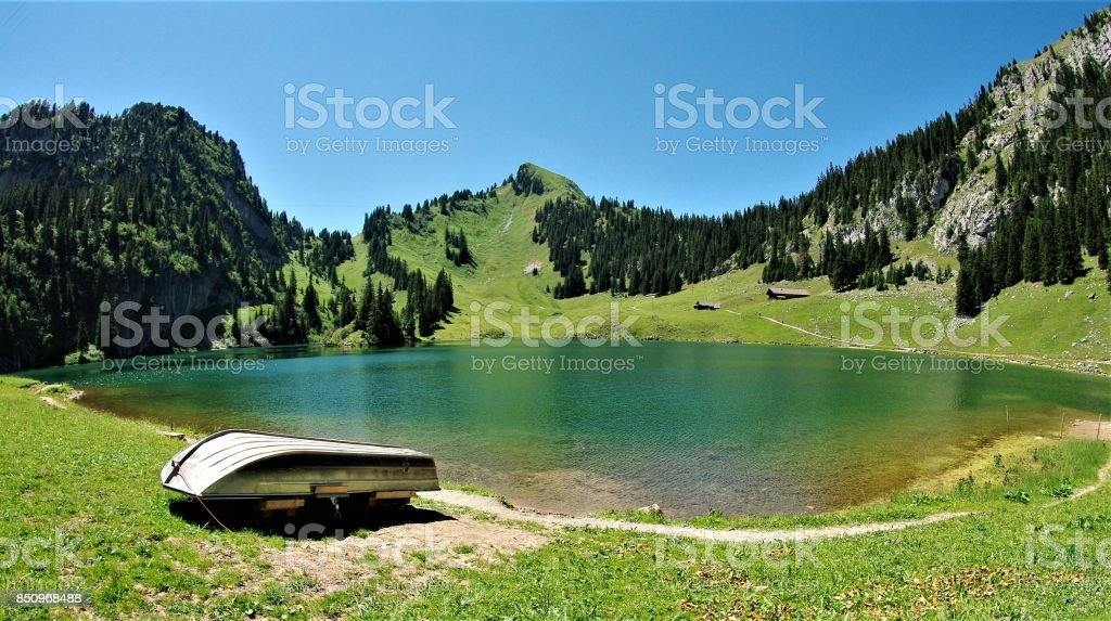 The Glacial Lakes of the Bernese Oberland in Central Switzerland