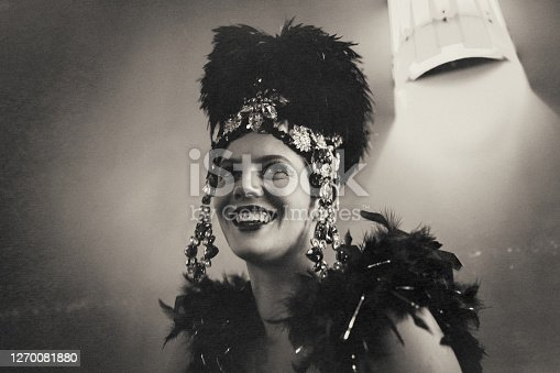 Cabaret, beauty, cute, vintage, art, nightlife, close-up, fun, portrait, young woman, luxury, smiling, elegance, sphinx,