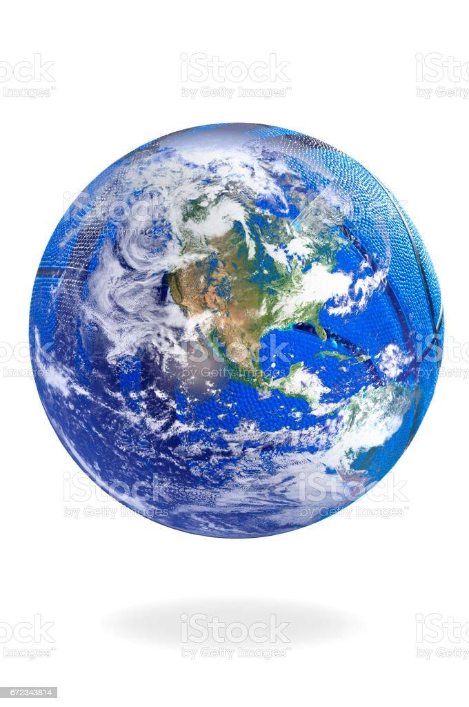 El globo terráqueo - foto de stock