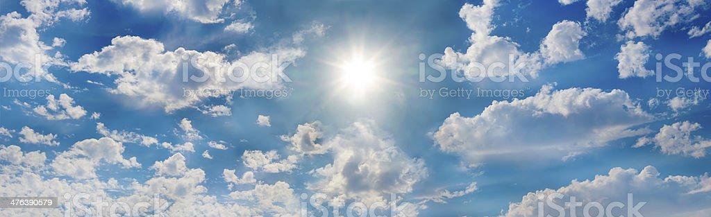 The glorious sun royalty-free stock photo