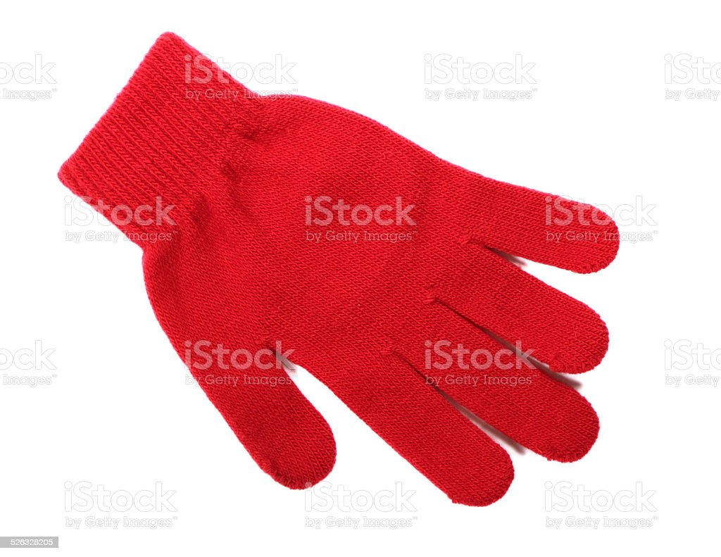 The glove stock photo
