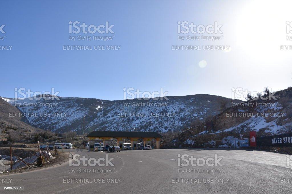 The Golan Heights, Hermon, Israel stock photo