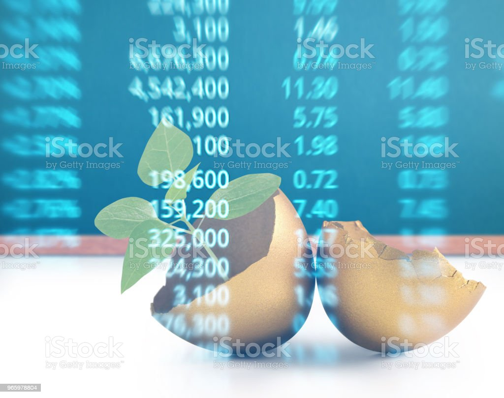 the golden eggs - Royalty-free Banking Stock Photo