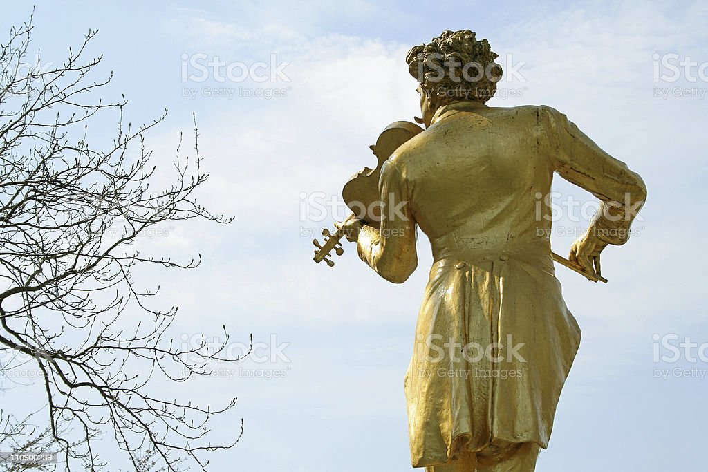 The Golden Fiddler royalty-free stock photo