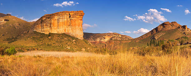 The Golden Gate Highlands National Park in South Africa stock photo