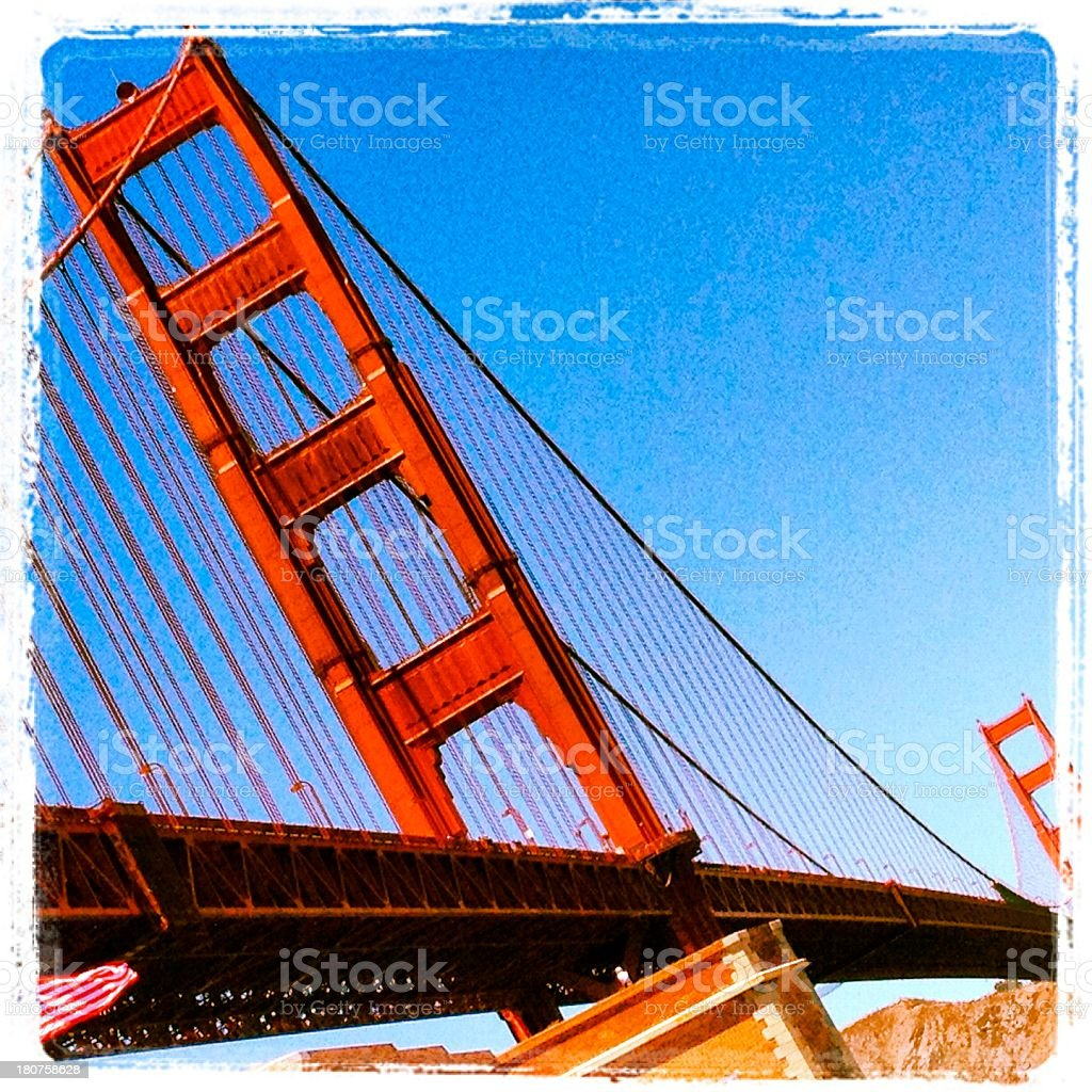 The Golden Gate royalty-free stock photo