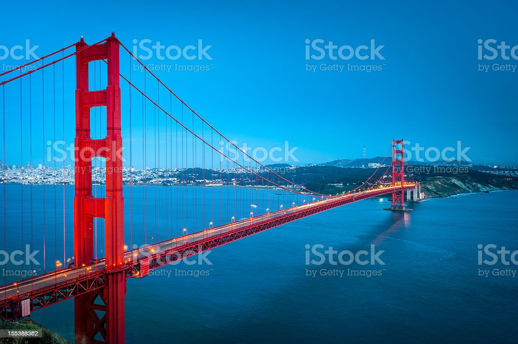 The Golden Gate, San Francisco royalty-free stock photo
