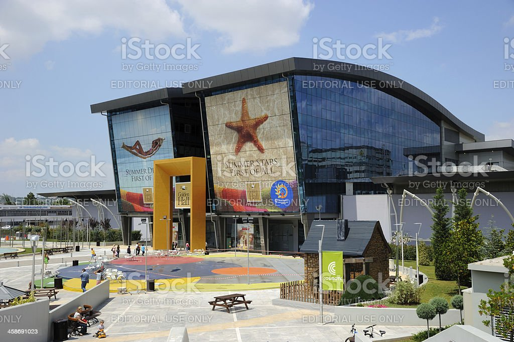 4e6d115d325 The Golden Hall Shopping Mall Greece Stock Photo - Download Image ...