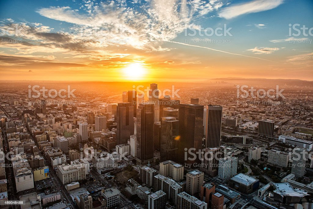 The Golden Hour stock photo