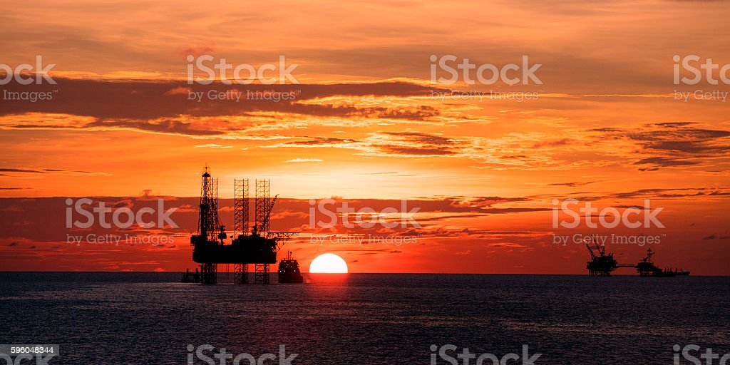 The Golden Hour royalty-free stock photo