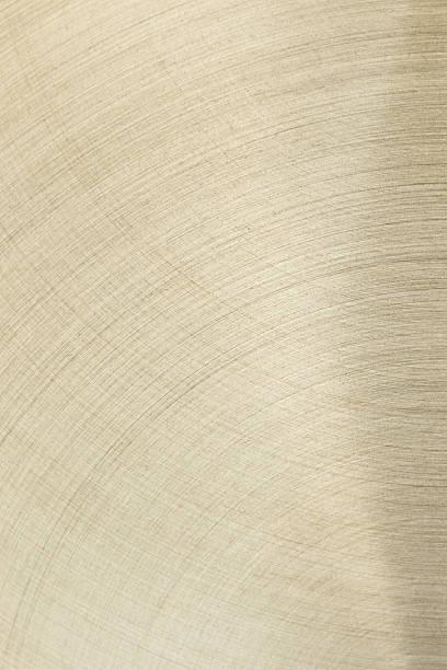 Le Or surface avec des lignes courbes. - Photo