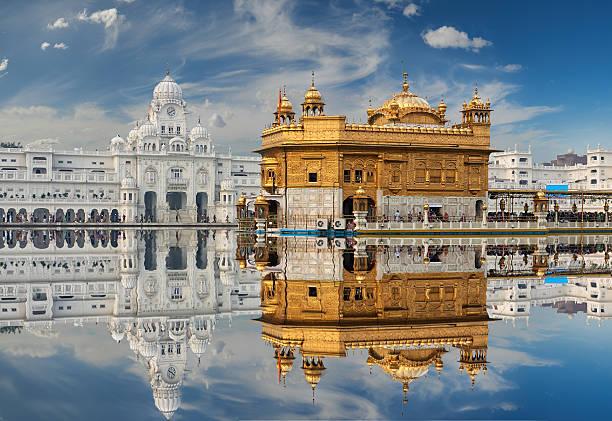 Cтоковое фото Золотой Храм в Амритсар, Пенджаб, Индия.