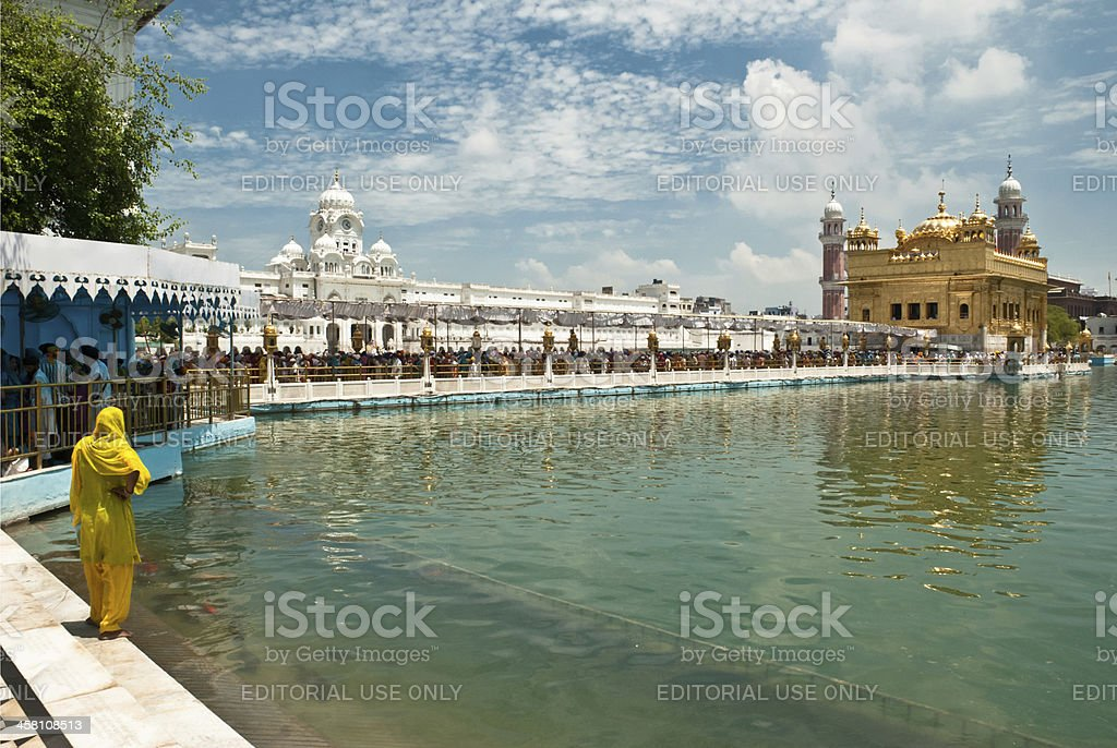 The Golden temple of Sikh royalty-free stock photo