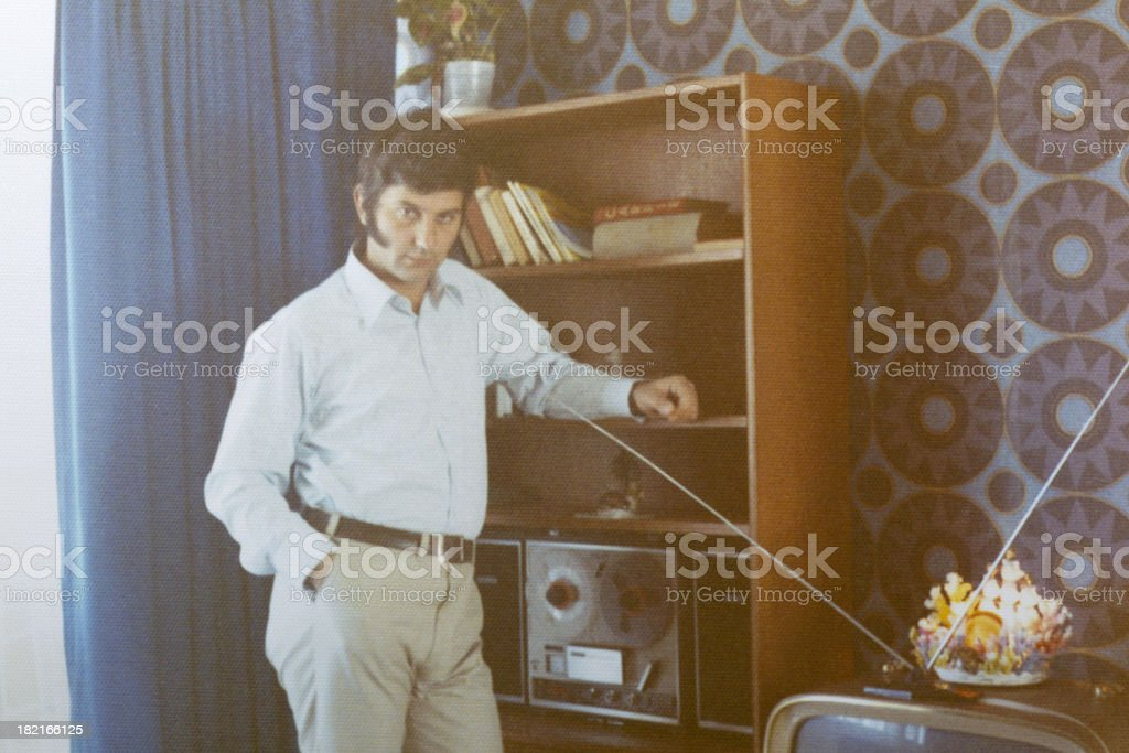 The good old days stock photo