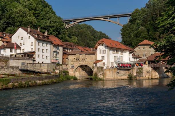 Le pont de Gotteron - Fribourg - Suisse - Photo
