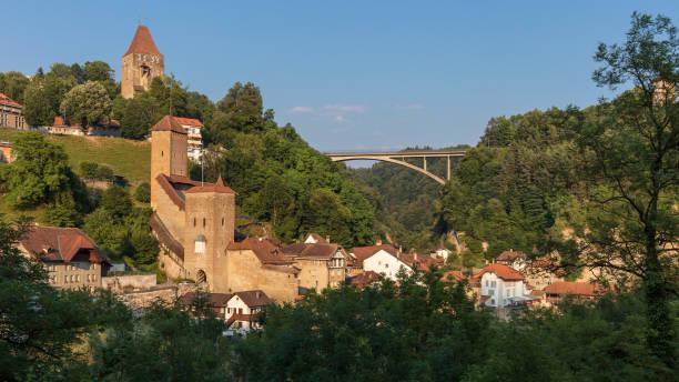 Le pont Gotteron - Fribourg - Suisse - Photo
