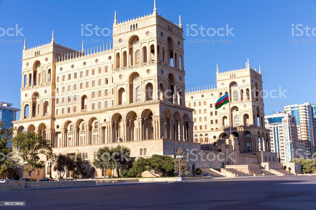 The Government house of Azerbaijan in Baku, Azerbaijan. foto stock royalty-free