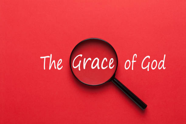 The Grace of God stock photo