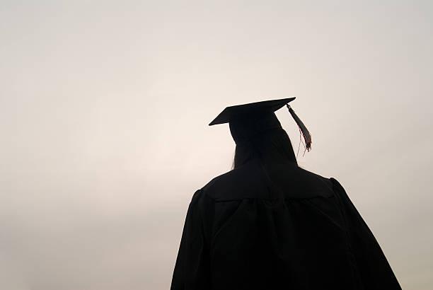 The Graduate stock photo