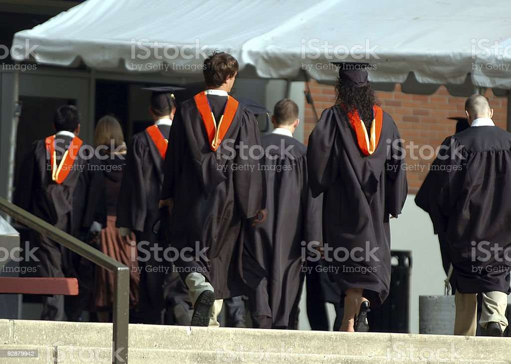 The Graduates - 1 royalty-free stock photo