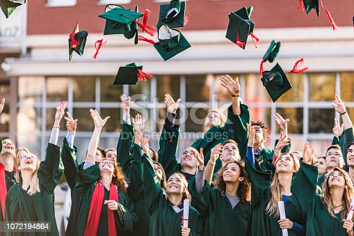 istock The graduation day is finally here! 1072194864