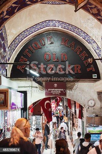 istock The Grand Bazaar in Istanbul 483289674