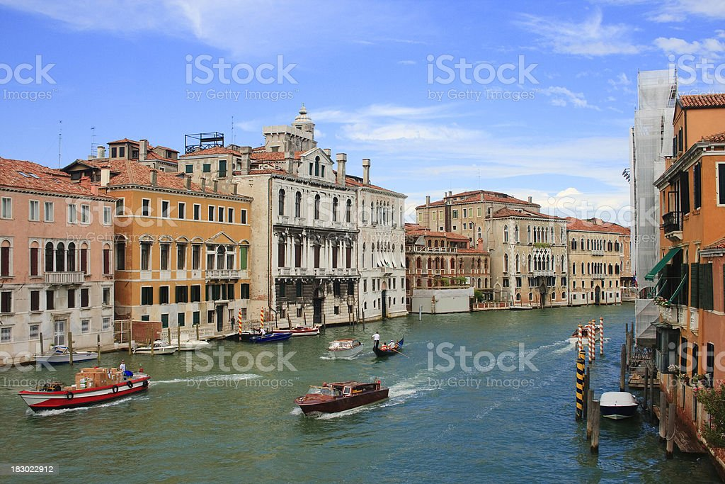The Grand Canal royalty-free stock photo