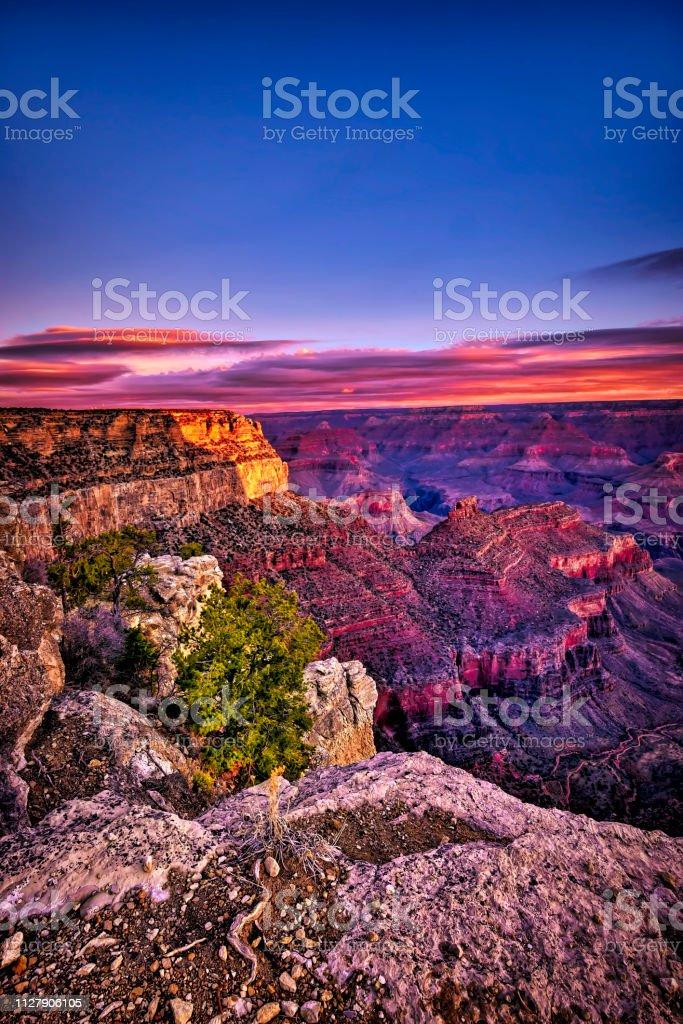 The Grand Canyon Arizona - Royalty-free Adventure Stock Photo