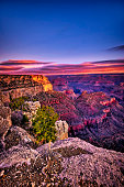Dawn at the Grand Canyon National Park