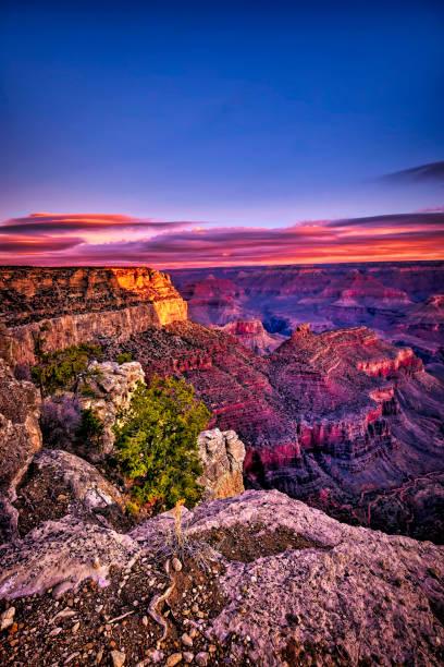The Grand Canyon Arizona stock photo
