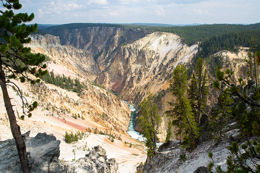 The Grand Canyon of Yellowstone River