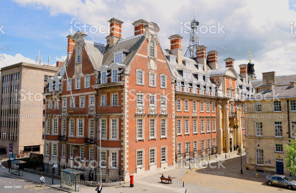 The Grand Hotel  in York stock photo