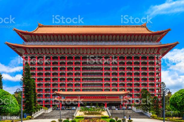 The Grand Hotel In Zhongshan District Taipei Taiwan Stock Photo Download Image Now Istock