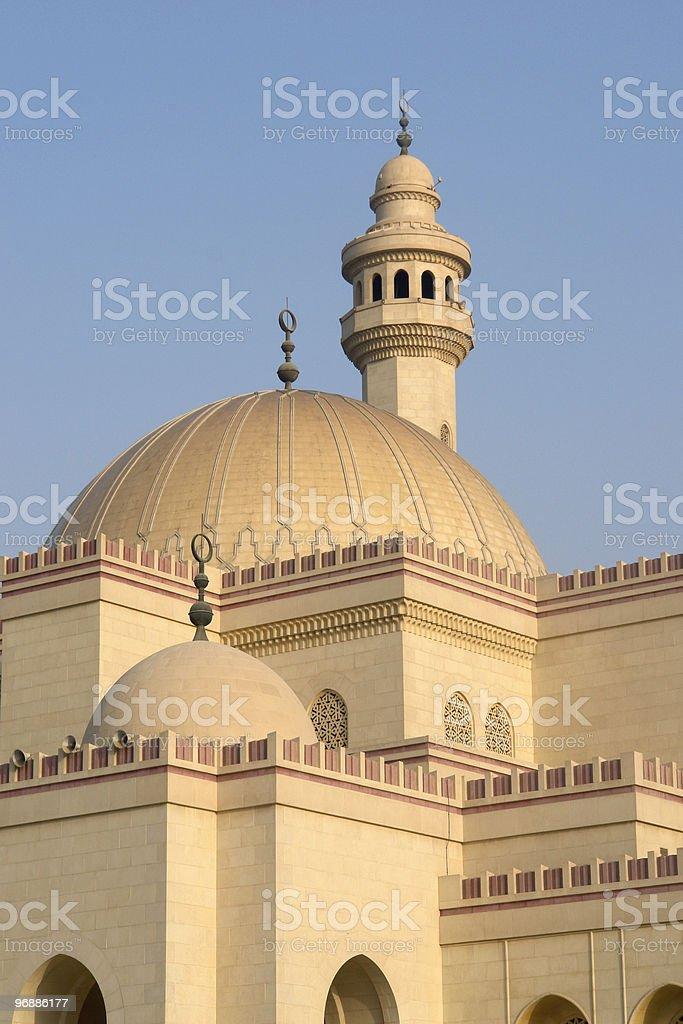 Die Große Moschee Manama, Bahrain Lizenzfreies stock-foto