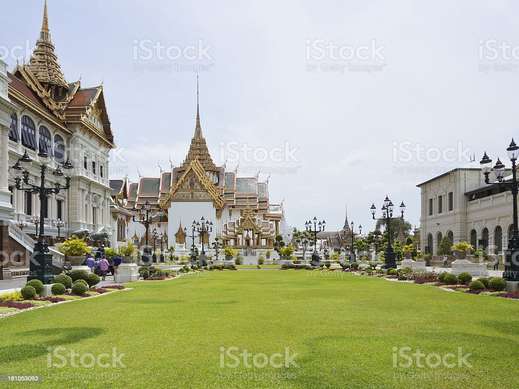 The Grand Palace In Thailand royalty-free stock photo