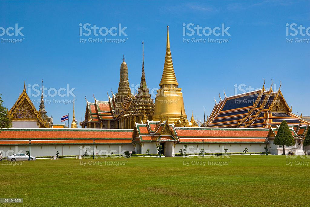 The Grand Palace royalty-free stock photo