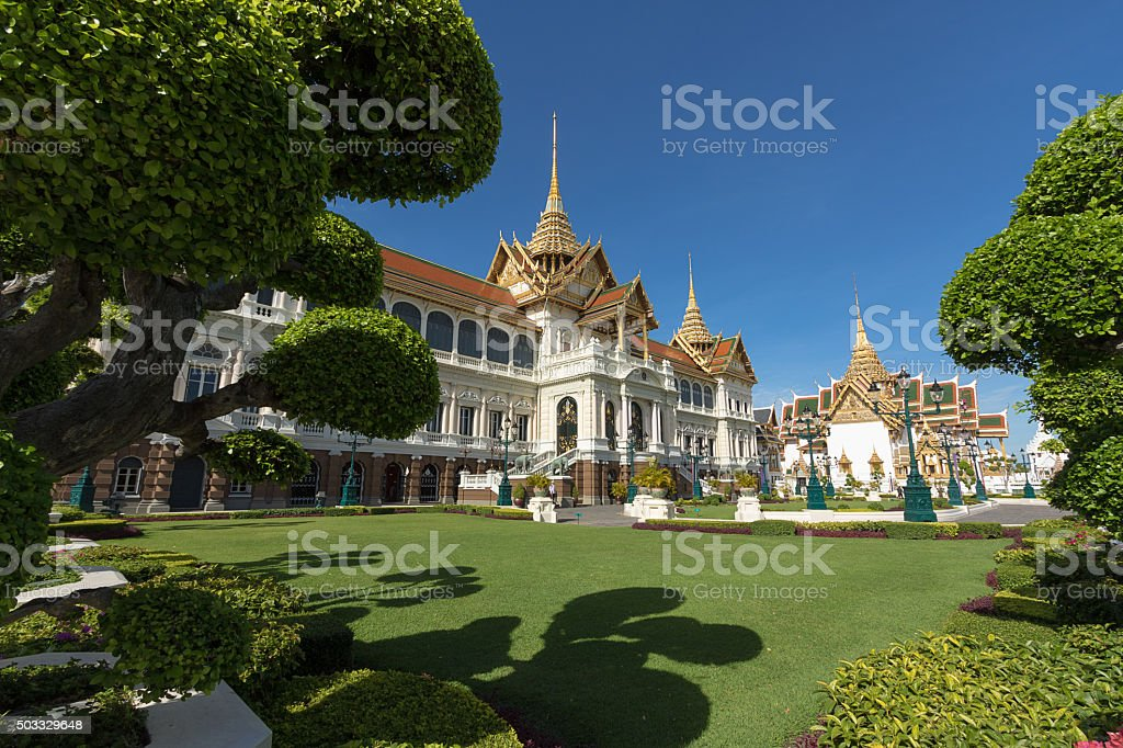 The Grand Palace Wat Phra Kaew stock photo