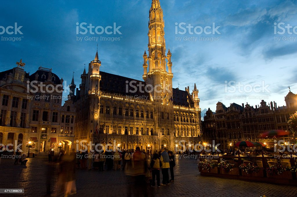 The Grand Place Square royalty-free stock photo