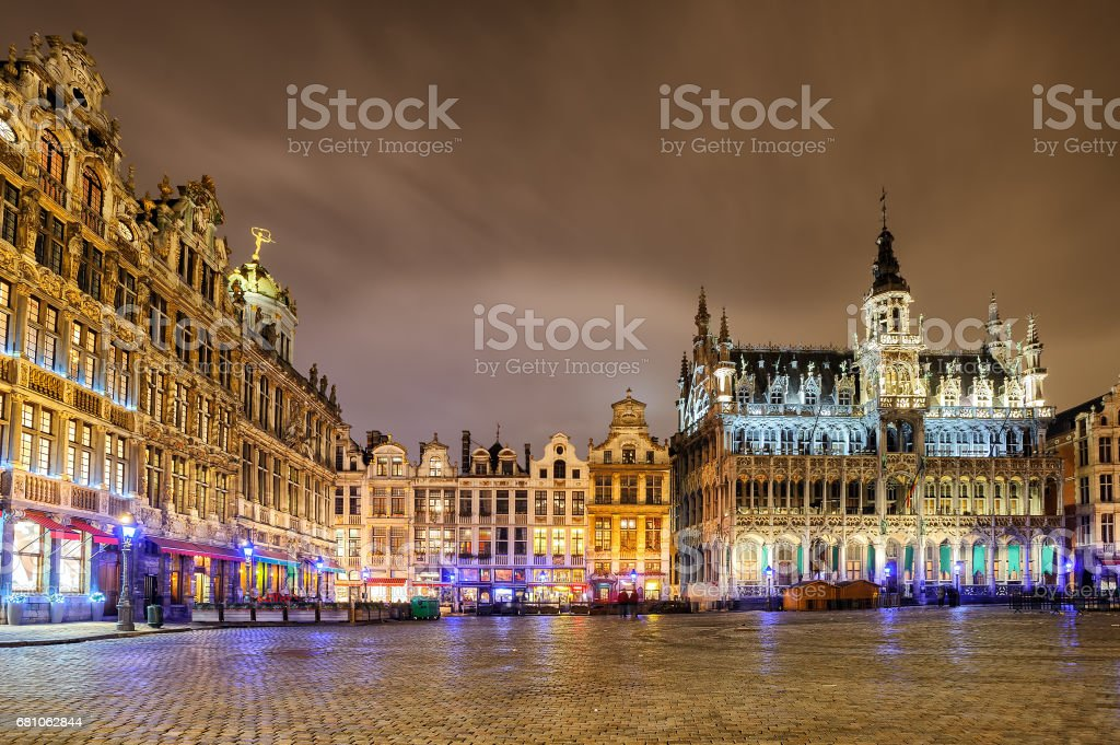 The Grand Place with Breadhouse, Brussels, Belgium - Photo