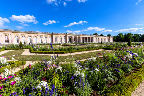 The Grand Trianon, Palace of Versailles stock photo