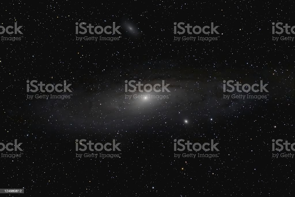 The great Andromeda Galaxy stock photo