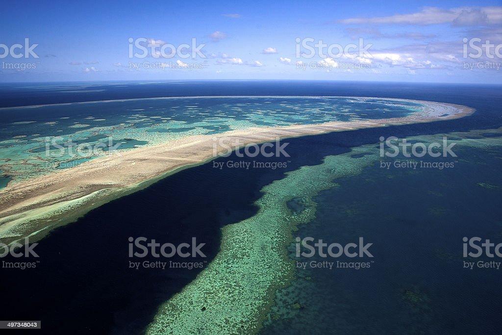 The Great Barrier Reef, Queensland, Australia stock photo