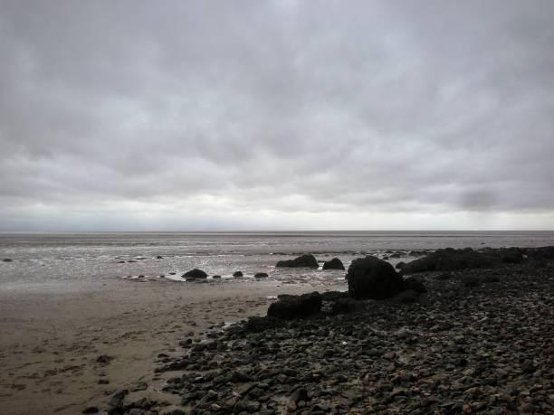 The great British coastline. stock photo